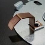 高強度SUS鋼をカシメ加工 (2)